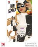 Ladies 60s Chick Vinyl Costume 60s Fancy Dress